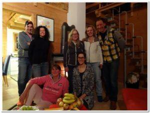 v.l.: Bernhard, Eri, Claudia, Monika, Birte, Dagmar, Peter, Foto: ©Nicole Bernstein