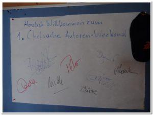 Die Unterschriftenwand. ©Nicole Bernstein